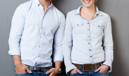 f120fc6d5b89ae Why do men's and women's shirts have buttons on opposite sides? | Same Day  Dry Cleaning Calgary | Canada | Avalon Cleaners