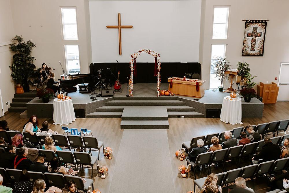 wedding ceremony port kells church