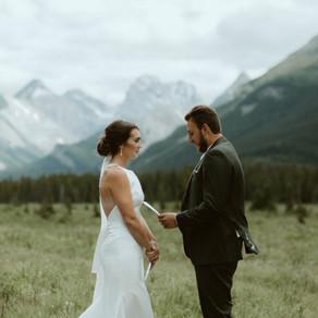 Mount Engadine Lodge Elopement | Kananaskis Wedding Photographer & Videographer
