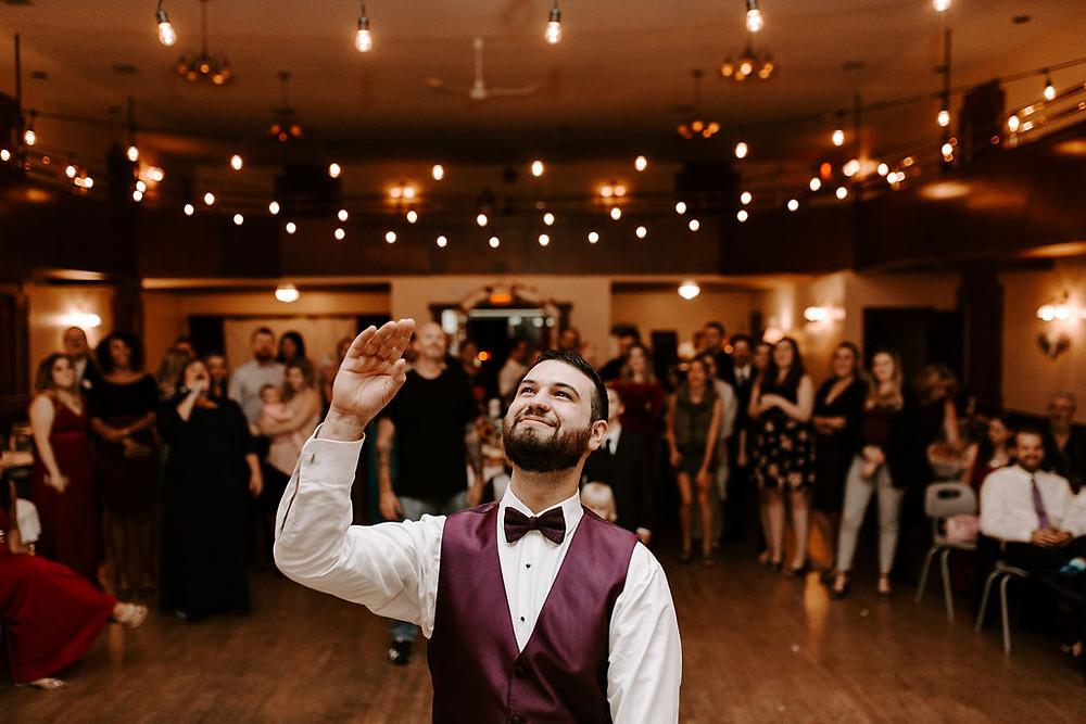 east delta hall wedding reception