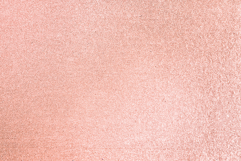Close up of pink blush glitter textured
