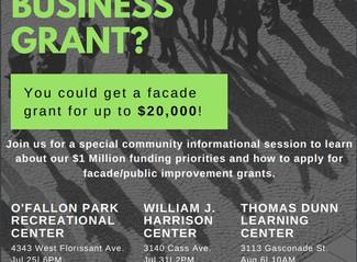 RFP - Neighborhood Commercial District Facade Grant