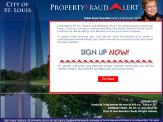 Safe Spot: Property Fraud Alert