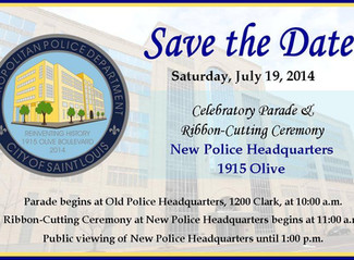 New Police Department Headquarter Ribbon Cutting Ceremony