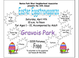 Easter Eggstravaganza, April 4, 2015