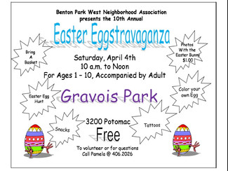 Easter Eggstravaganza, April 4, 2015