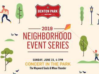 Weekly Porch: Area Activities, June 20-30, 2019