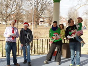 After the Party: Gravois Park Holiday Caroling