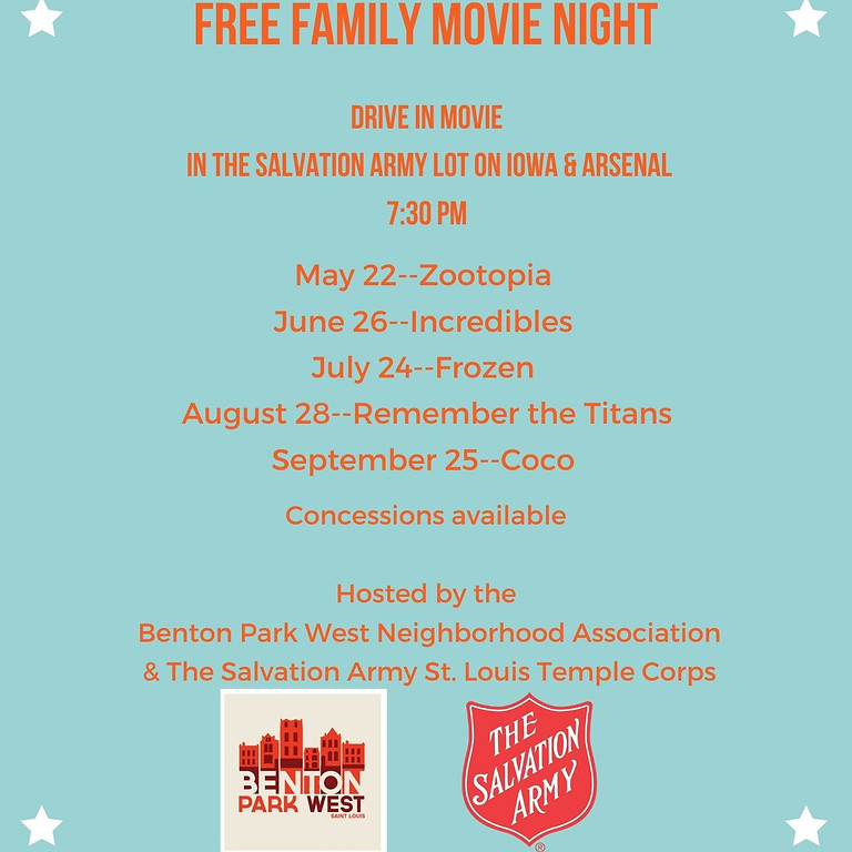 Drive-In Movie Night: Zootopia