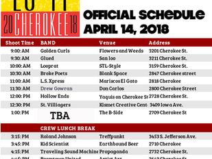 Weekly Porch: Area Activities, April 12-22, 2018