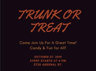 Weekly Porch: Area Activities, October 17-27, 2019