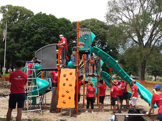 After the Party: KaBOOM! Playground Build