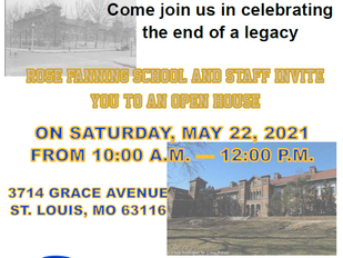 Rose Fanning School Open House: May 22, 2021