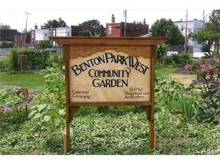 Community Garden Meeting, March 21, 2015