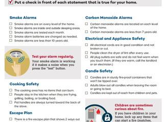 Safe Spot: Fire Safety