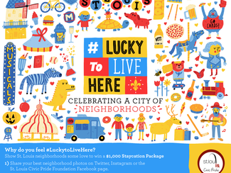 Lucky to Live Here Campaign