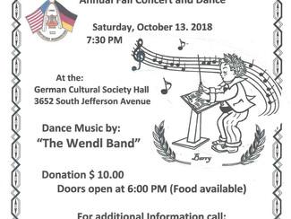 Weekly Porch: Area Activities, October 4-14, 2018