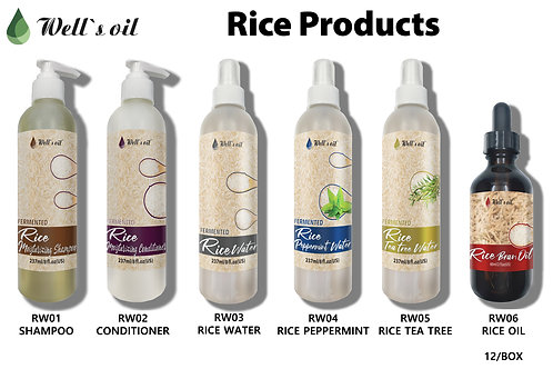 Well's Rice products