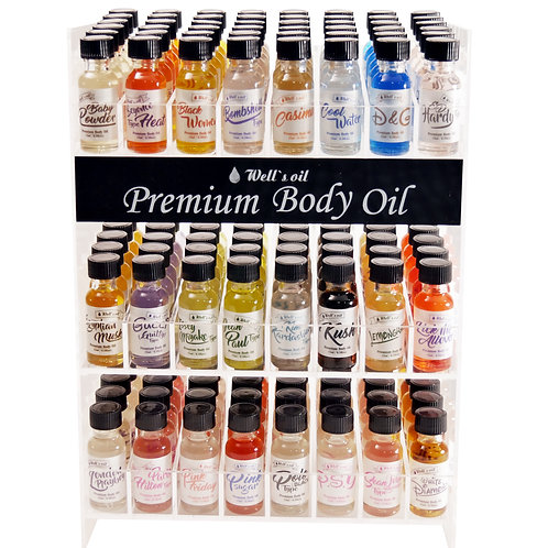Well's Premium Body oil 0.5oz set