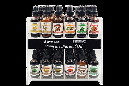 Well's natural oil (carrier oil) 2oz Set