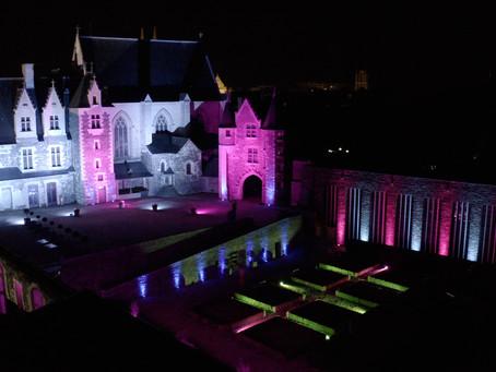 Set DJ au château d'Angers