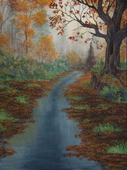 Morning Autumn Rain