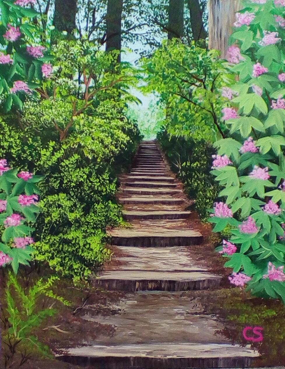 Stairway to Glendalough
