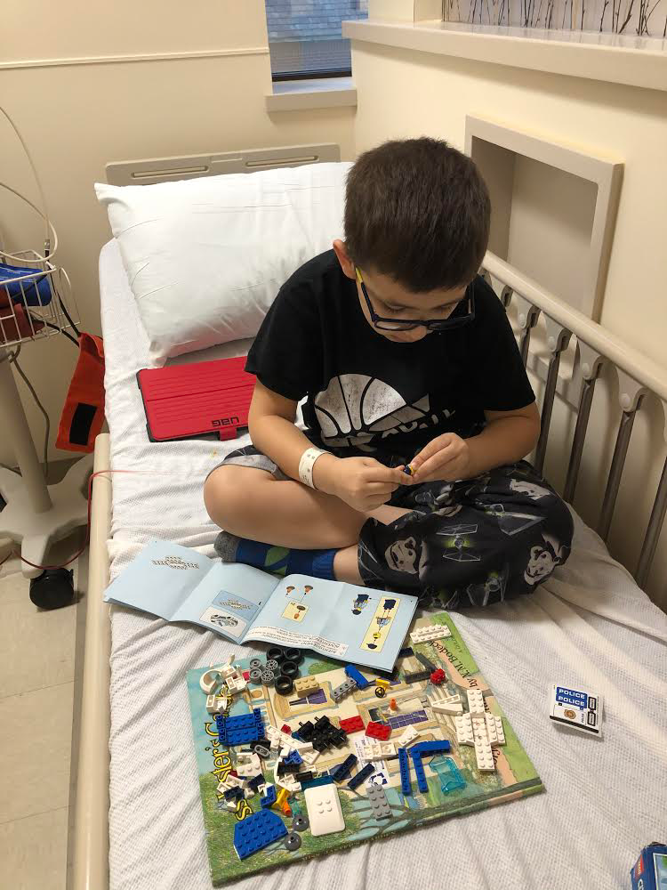 Crafts in the hospital