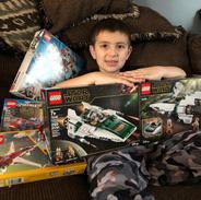 Legos, Legos, & more Legos
