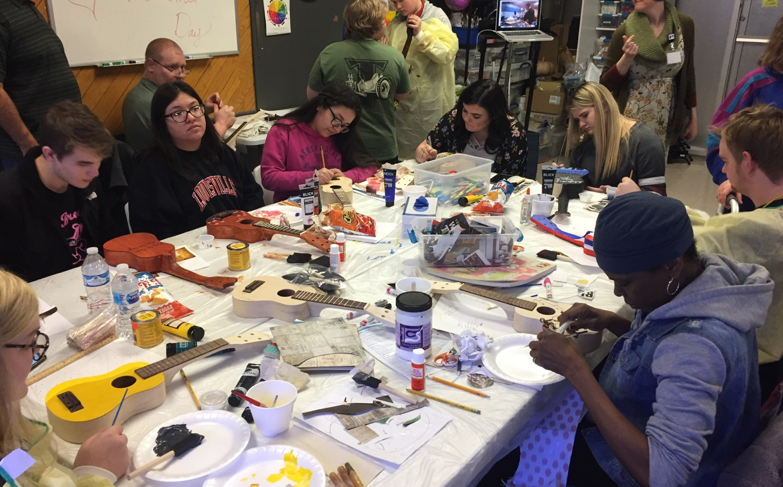 Ukulele Buidler Workshop
