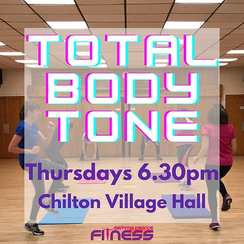 Total Body Tone - Thurs 6.30pm
