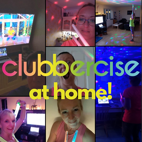 Clubbercise Online - Tues  2nd Feb