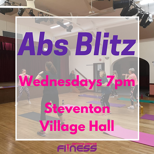 Abs Blitz - Weds 7pm