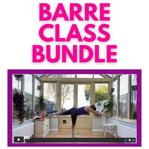 Barre Class Bundle