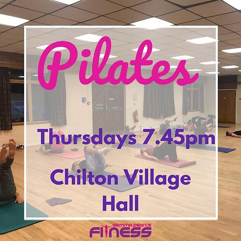 Pilates - Thurs 7.45pm