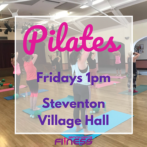 Pilates - Friday 1pm