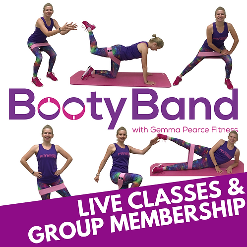 Booty Band Online Classes - 1 month's access