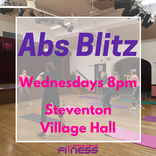 Abs Blitz - Weds 8pm