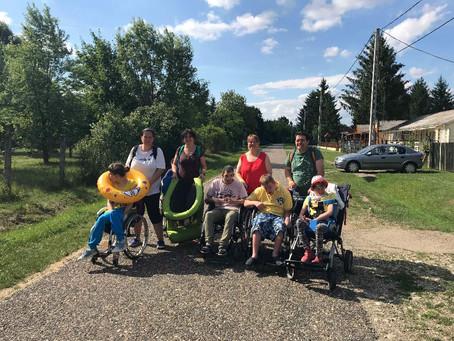Bogácsi tábor az MVM pályázati támogatásból
