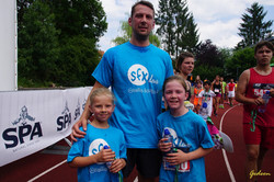 Le Jogging en famille