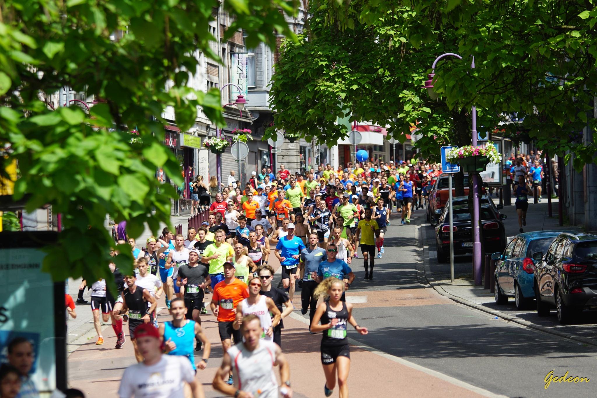 Le premier km du Grand Jogging