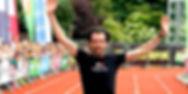 Olivier Pierron, remporte le Jogging de Verviers 2013 avec Skinfit
