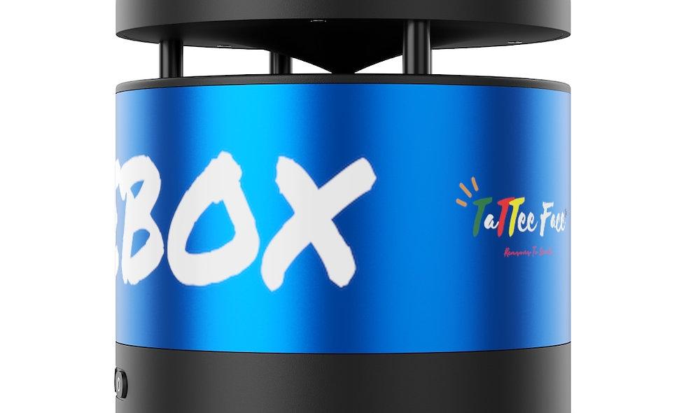 CHUNEBOX: Metal Bluetooth Speaker and Wireless Charging Pad