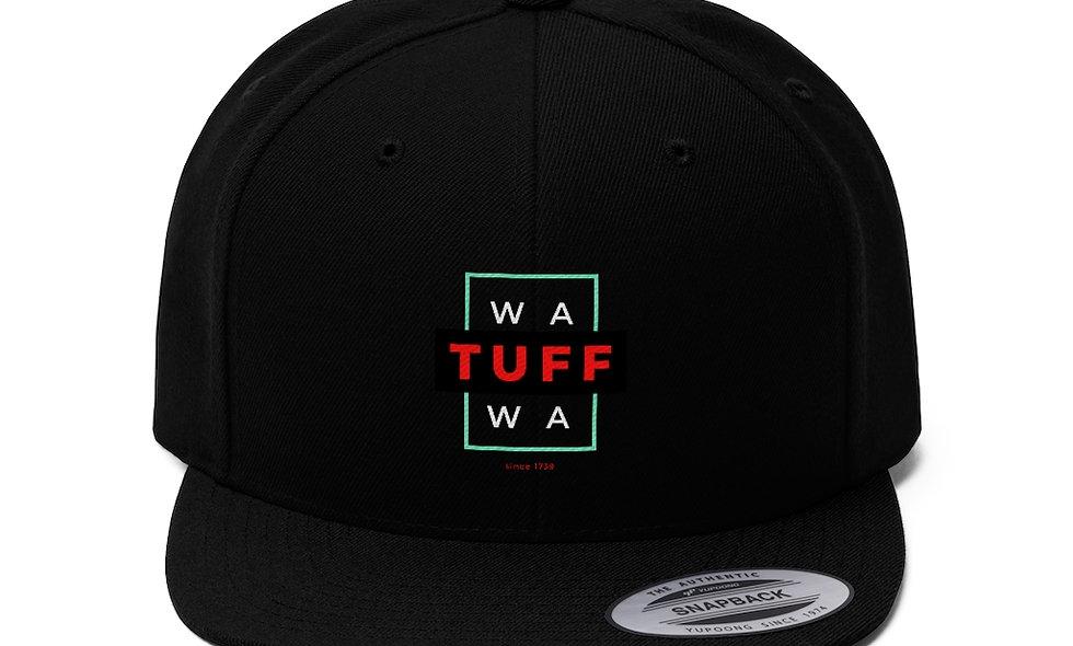 WAWA TUFF Flat Bill Hat