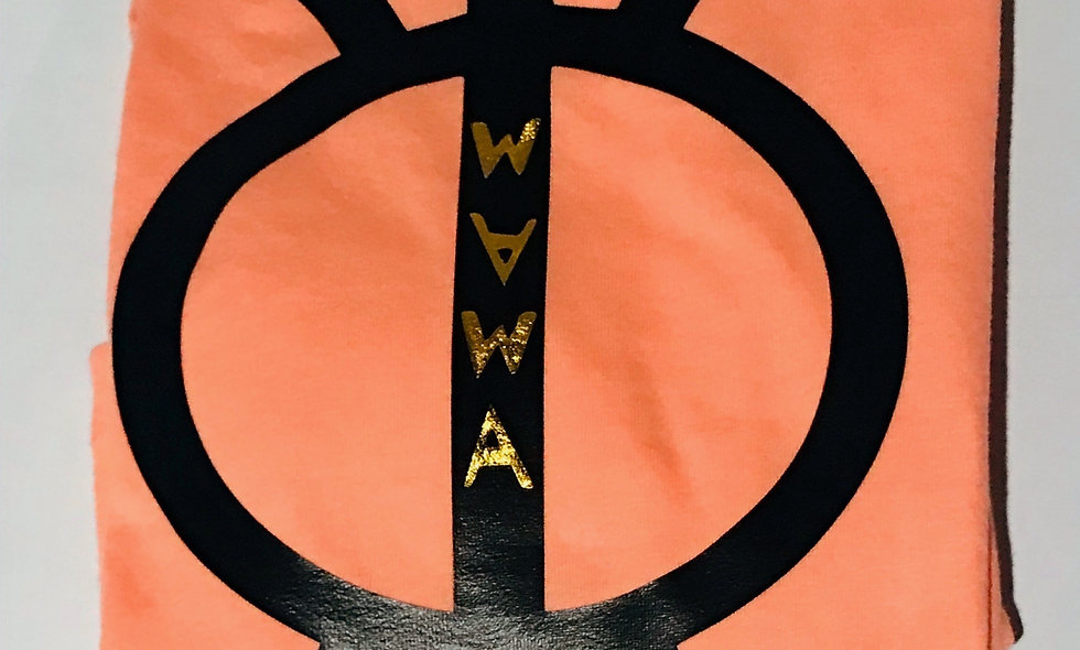 Female-WAWA Orange (Black/Gold)