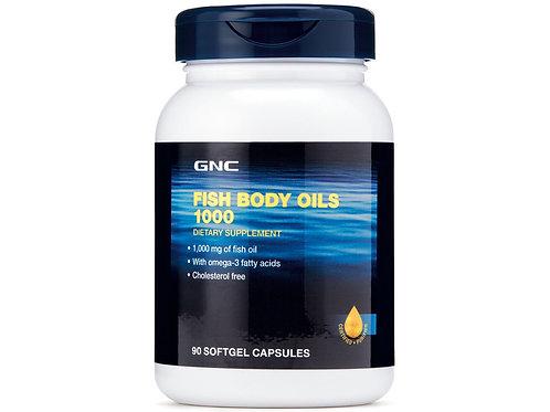 GNC Fish Body Oils 1000 (90 softgels)