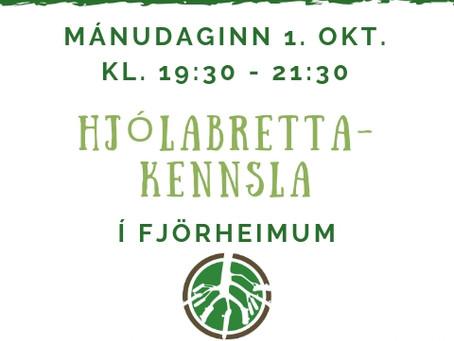 Heilsu- og forvarnarvika í Reykjanesbæ: dagskrá Fjörheima