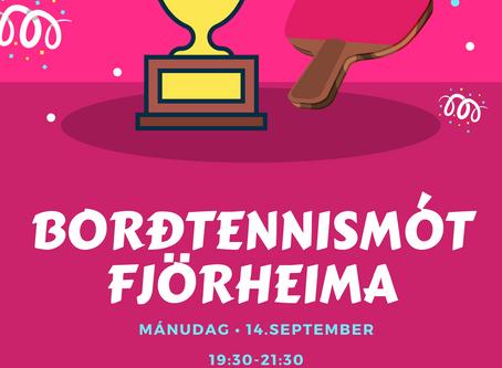 Borðtennismót Fjörheima