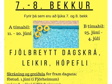Sumarfjör Fjörheima