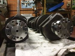 Flywheel holes